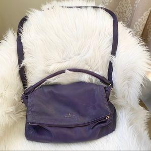 Kate Spade Cobble Hill Minka purple crossbody bag